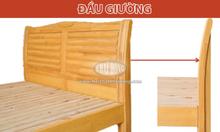 Giường ngủ đôi gỗ tự nhiên đẹp Sweet-1602w