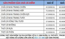 Cung cấp chả cá Vạn Giã - Nha Trang toàn quốc