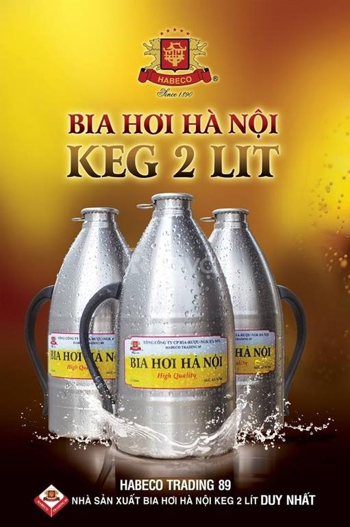 Đại lý cấp 1 Bia hơi Hà Nội tại TP. HCM, VT, BH