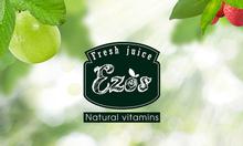 Nước ép trái cây nguyên chất EZOS