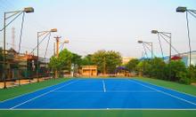 Thi công sân tennis tiêu chuẩn