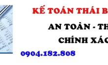Dịch vụ Kế toán tại Thái Bình