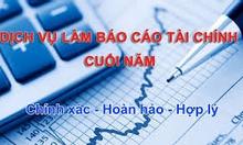 Nhận làm BC thuế, BCTC và sổ kế toán!0120.728.3906