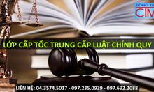 Trung cấp Luật Hà Nội xét tuyển hệ chính quy 2016