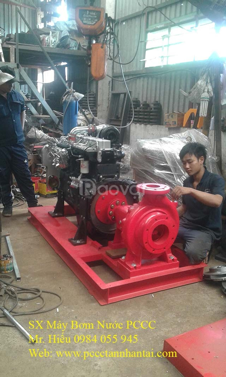 Máy bơm nước PCCC, máy bơm PCCC Hyundai