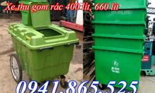 Thùng rác công nghiệp 120l 240l 660l