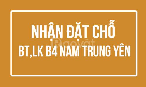 Độc quyền Giá ShopHouse Nam Trung Yên - Giá CĐT