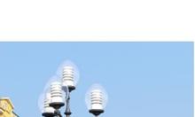 Cột đèn trang trí DC06 chùm đèn CH06-4