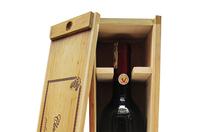 Hộp gỗ rượu tinh tế, chất rượu nhập khẩu