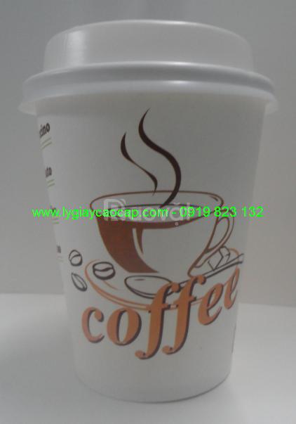 Ly Giấy Vy Vy 9oz (250ml) - Cafe Take Away.