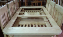 Thanh lý bộ bàn ăn 6 ghế gỗ Sồi Nga