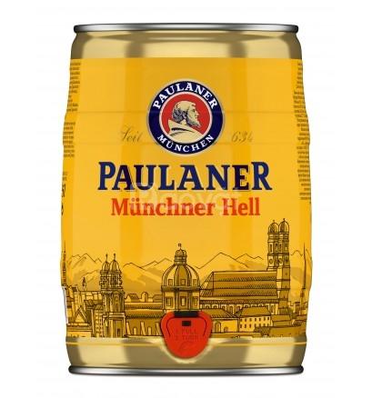 Thùng 2 bom bia Bia Paulaner 5 lít