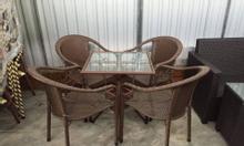 Thanh lí bàn ghế nhựa giả mây cao cấp Đà Nẵng