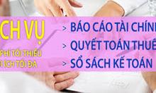 Làm BCTC, BC thuế giá rẻ tại Hà Nội