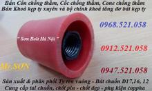 0912.521.058 bán côn nhựa chống thấm D12,14