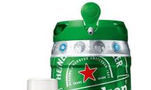 Bia Heineken Bom 5 lit nhap khau Ha Lan