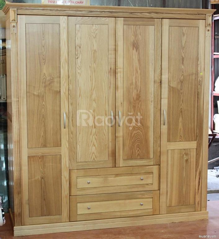 Tủ gỗ tự nhiên, tủ gỗ sồi Nga