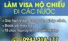 Chuyên làm Visa Trung Quốc, Hồng Kong, Hàn Quốc