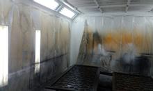 Thanh lý buồng phun sơn tĩnh điện