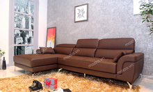 Góc sofa đặt mô hình thanh lịch trang trí
