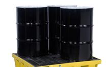 pallet chịu hoá chất, 4 phuy - Justrite 0943456807