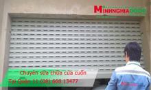 Sửa cửa cuốn Đài Loan tại Quận 1