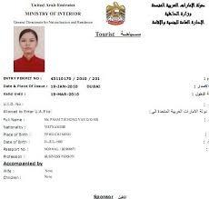 Dịch vụ xin visa du lịch Dubai