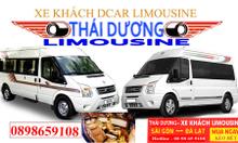 Thái Dương Limousine tuyến Sài Gòn Đà Lạt