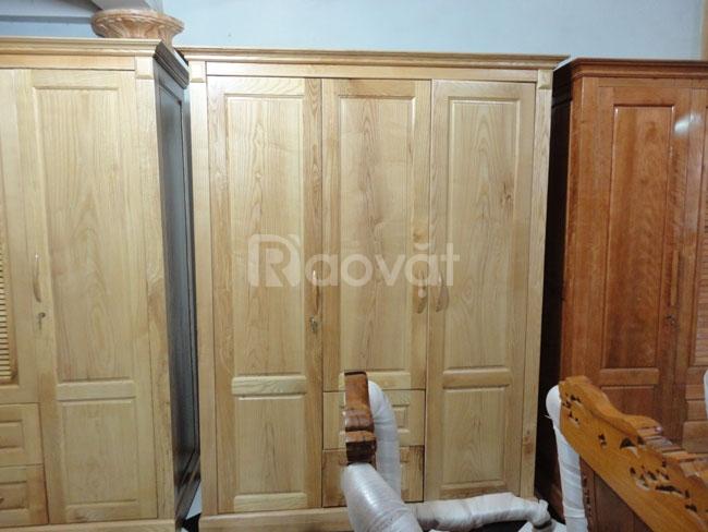 Tủ quần áo gỗ thịt