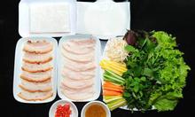 Đặc sản bánh tráng thịt heo Đà Nẵng