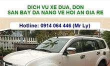 Xe đưa đón nhà ga, sân bay Đà Nẵng - Hội An giá rẻ