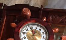đồng hồ mỏ neo,gỗ cẩm, đẹp, lạ giá 550k