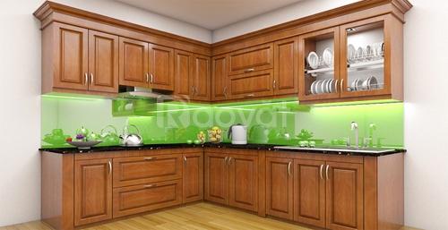 Nhận thi công tủ bếp