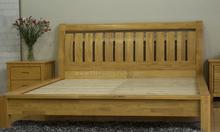 Giường ngủ đôi gỗ tự nhiên HAPPY-1817w