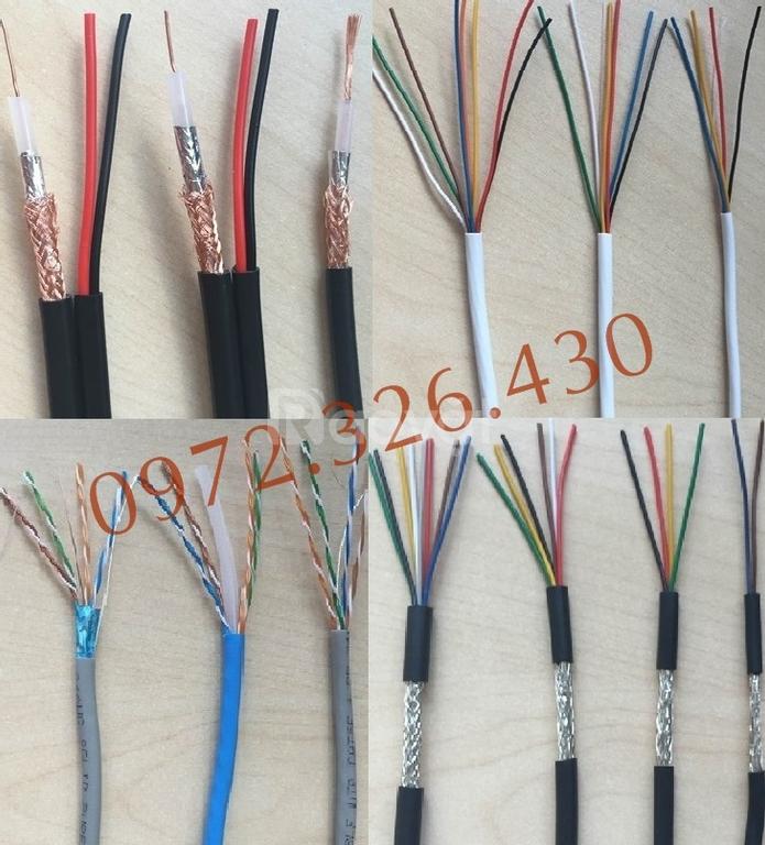 Cáp mạng/cáp camera/cáp tín hiệu/cáp điều khiển