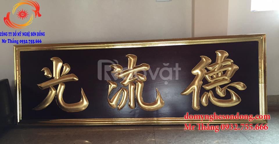 Đồ thờ gỗ sơn son thếp vàng đẹp sang trọng