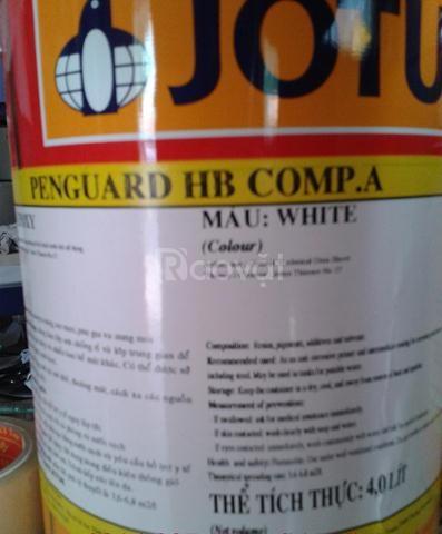 sơn epoxy 2 thành phần dành cho sắt thép