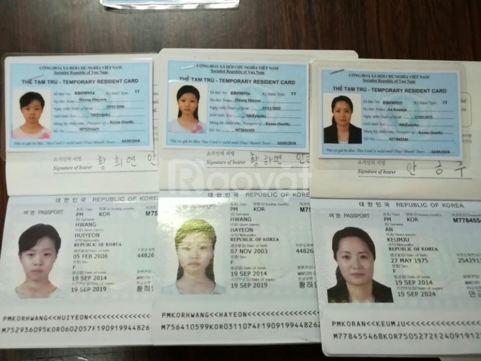 Dịch vụ xin gia hạn visa đi Hàn Quốc du lịch