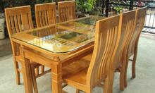 Bộ bàn ăn gỗ Sồi giá hợp lý