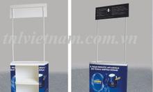 Quầy bán hàng di động- Booth lắp ráp- Bàn lắp ráp