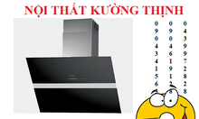 Tiếng ồn của máy hút mùi Munchen NG 16