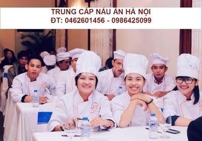 Học trung cấp nấu ăn ở đâu?