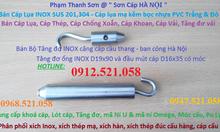 0912.521.058 bán tăng đơ ống inox cầu thang