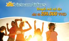 Vé máy bay khuyến mãi Vietnam Airlines giá rẻ