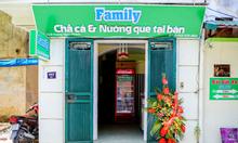 Chuỗi nhà hàng FAMILY Chả cá  chuyển nhượng cơ sở