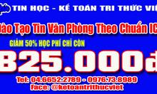 Địa chỉ dạy tin học văn phòng cấp tốc tại Hà Nội