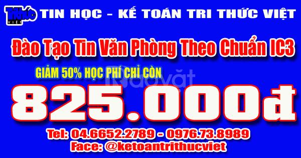 Địa chỉ học tin văn phòng tốt nhất Hà Nội