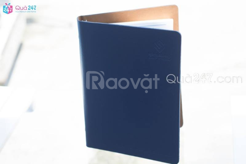 Sổ da- Sổ Tay (Notebook) In Ấn logo theo yêu cầu.