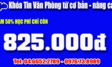 Địa chỉ học tin học văn phòng tốt nhất Hà Nội