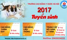 Cao đẳng y dược Hà Nội tuyển sinh 2017